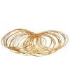 Gouden armbanden rond 50 stuks