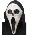 Glow in dark Scream masker