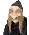 Dwergen masker met kap
