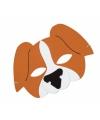 Honden masker van foam