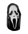 Horror masker Scream met kap