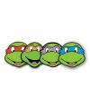 Ninja Turtles masker set van 4