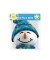 Feestmasker Sneeuwpop