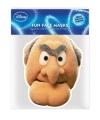 Statler Muppetshow masker van karton