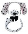 Feest verkleedsetje Dalmatier hond