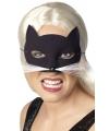 Catwoman oog masker zwart